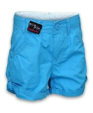 Pantalones cortos de niña de 2 a 16 años azul