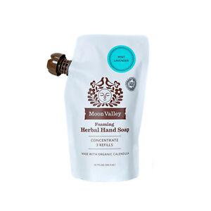 Moon Valley - Mint Lavender - Herbal Hand Soap - Refils - 10.7 FL OZ