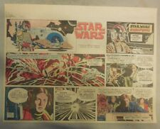 Star Wars Sunday Page by Al Williamson from 1/13/1982 Large Half Page Size!