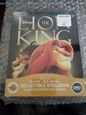 THE LION KING STEELBOOK [OOP/NEW/Blu-ray] The Signature Collection Best Buy