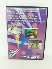Badger Air-Brush Co. Cake Decorating with Airbrush, DVD, BADBD108
