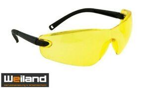 PORTWEST PW 34 Profile Schutzbrille,Augenschutzbrille, Arbeitsschutzbrille,gelb