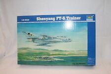 turumpeter 1:48 02813 shenyang ft-6 Trainer