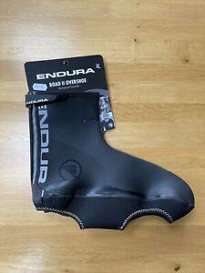 Endura Road 2 Overshoe Cycling Biking Waterproof XL Size 11+