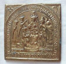 Médaille Bronze NOTRE DAME DANBRUM ORIGINAL CATHOLIC FRENCH MEDAL