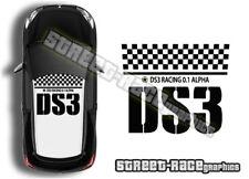 Citroen DS3 toit Graphics 001 Stickers Decals