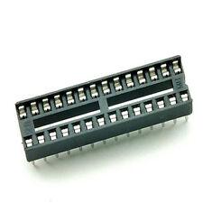5X Zocalo 28 Pines DIP28 integrado pin Socket