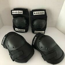 Pair of Rollerblades Knee Pads & a pair of Bauer elbow pads kids/youth Small