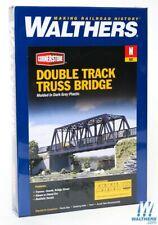N Scale Walthers Cornerstone kit 933-3242 * Double Track Truss Bridge