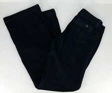 BANANA REPUBLIC Jeans 4 Blue Dark Wash Wide Leg Stretch Trouser Limited Edition