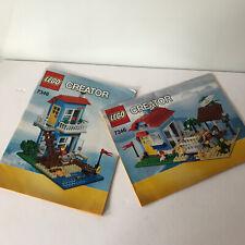 Lego Creator Set 7346 Beach House 2- Instruction Manuals Only No Bricks