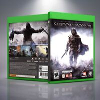 Middle-Earth: Shadow of Mordor - Replacement Xbox One Cover and Case. NO GAME!!