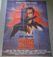 Affiche de cinéma :STICK de Burt REYNOLDS