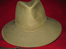 Grand Teton  Vintage Mole Skin Bush Safari Flyfishing Hat, Size Medium