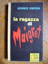 SIMENON - La ragazza di Maigret - ROMANZI N.169