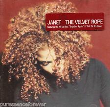 JANET JACKSON - The Velvet Rope (UK 22 Track CD Album)