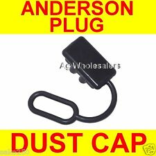 20 x DUST CAP COVER BLACK ANDERSON PLUG 50 AMP DUAL BATTERY 50a