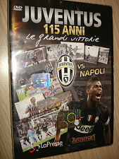 DVD OFFICIAL 115 ANNI DI STORIA LE GRANDI VITTORIE FC JUVENTUS VS NAPOLI