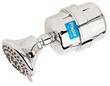 Propur ProMax Chrome Shower Filter w/Massage Head - SUPPORT A NONPROFIT ORG!