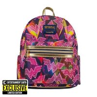 Loungefly Mini Backpack Wonder Woman 1984 WW84 Bag 2020 SDCC Exclusive