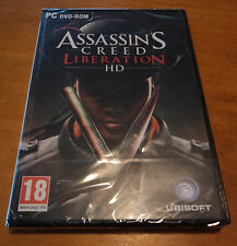 JUEGO PC - ASSASSIN'S CREED LIBERATION HD - NUEVO PRECINTADO - 100% CASTELLANO