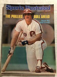 1977 Sports Illustrated PHILADELPHIA Phillies GREG LUZINSKI No Label THE BULL