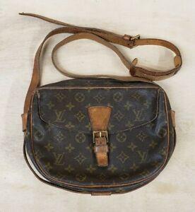 Authentic Louis Vuitton Monogram Jeune Fille Shoulder Cross Body Bag LV