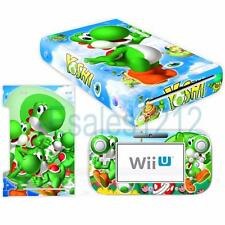 Super Mario Yoshi Vinyl Skin Decal Sticker for Nintendo Wii U Console Controller