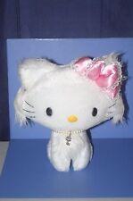 "SANRIO Hello Charmmy kitty Cat Plush Doll Pink Ribbon JAPAN 9.2""  #2"