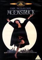 Lunático 1987 Cher Nicolas Cage Danny Aiello Mgm GB 2004 Región 2 DVD Nuevo