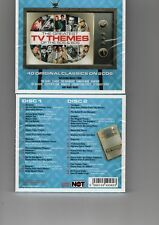 GRTST TV THEMES OF 50s&60s -VAR (2CD)NEW CAIOLA HATCH RIDDLE VALJEAN BARRY JAMES