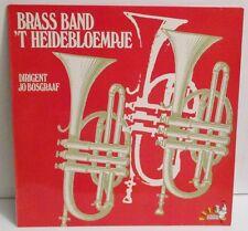 Brass Band 'T Heidebloempje LP Vinyl Vara-Gram ET-37 Jo Bosgraaf