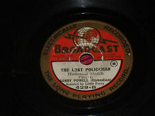 "Sandy Powell:  The Lost Policeman   8""    78   Broadcast 429  Music Hall"