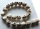 "Howlite Turquoise Gemstone 9/23mm skull Nugget Loose Beads 16''&18"" Strand"