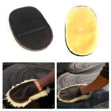 Car Microfiber Soft Plush Wool Wash Cleaning Towel Duster Mitt Glove Brush Tool