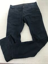 G-Star Raw Men's 32x31* Button Fly Slim Jeans Dark Wash Blue 100% Cotton TS9