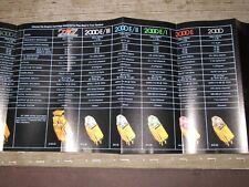 Empire 4000 2000 Cartridge Turntable Original Catalogue cataloge