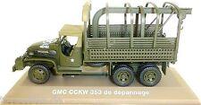 GMC CCKW 353 Truck Etats-Unis MILITAIRE CAMION brun vert foncé 1:43 ATLAS NEUF