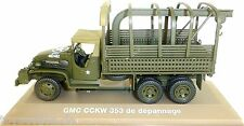 GMC CCKW 353 Truck USA Militär LKW braun dunkelgrün 1:43 Atlas NEU in BOX  µ√