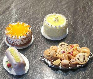 1:12 Puppenhaus Café Miniaturen Konvolut