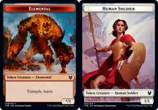Token x4  MTG Custom Theros Beyond Death Human red