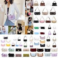 Retro Women Stone Leather Shoulder Bag Casual Girls Messenger Crossbody Bags LOT