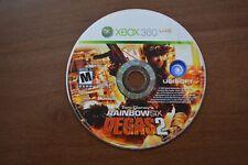 Tom Clancy's Rainbow Six: Vegas 2 (Microsoft Xbox 360, 2008) Disc Only