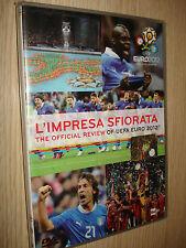 2 DVD L'IMPRESA SFIORATA THE OFFICIAL REVIEW OF EURO 2012 POLAND-UKRAINE EUROPEI