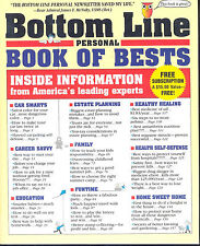 Bottom Line Personal Book of Bests (GIFT IT!) Inside Info from America's Experts