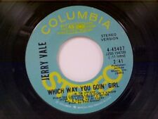 "JERRY VALE ""WHICH WAY YOU GOIN GIRL / MONO"" 45 PROMO"
