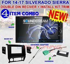 2014-2017 SILVERADO & SIERRA DOUBLE DIN BLUETOOTH USB CAR STEREO RADIO VM-622HB