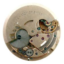 OMEGA TWENTY-FOUR (24) JEWELS SWISS WATCH MOVEMENT FOR PARTS OR REPAIRS