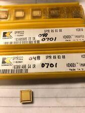 kennametal carbide Inserts Spmr322 Kc810 Qty5