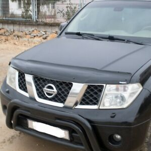 Hood Deflector Bug Shield Bonnet Protector for Nissan Frontier Navara 2006-2014